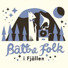 #bättrefolk #bättrefolkifjällen #festival #illustration #polkkajam