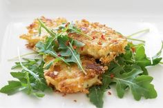 Chilli, cheese and potato fritters