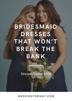 Bridesmaid dresses that won't break your bank! Weddington Way has the largest assortment of bridesmaid's dresses anywher… (With images) Blue Bridesmaid Dresses, Bridesmaids And Groomsmen, Wedding Bridesmaids, Perfect Wedding, Fall Wedding, Our Wedding, Dream Wedding, Wedding Goals, Wedding Attire