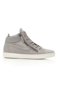 66e605801f0 Sloane Suede and Leather Sneakers by GIUSEPPE ZANOTTI Now Available on Moda  Operandi Leather Sneakers