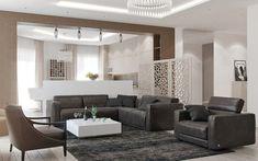 Nagy lakás, modern elegancia - tágas terek könnyed, semleges, visszafogott színekkel Oversized Mirror, Dining Table, Furniture, Home Decor, Elegant, Homemade Home Decor, Dinning Table Set, Home Furnishings, Interior Design