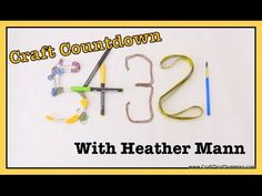Craft Countdown with Heather Mann | Craft Test Dummies