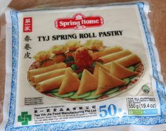 Vårrullar - Zeinas Kitchen Spring Roll Pastry, Food Manufacturing, Samosas, Recipe For Mom, Spring Rolls, Asian Recipes, Cantaloupe, Food And Drink, Cooking Recipes