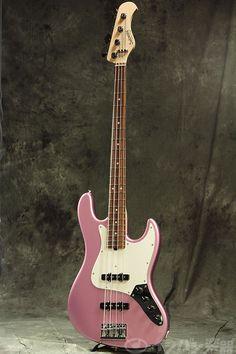 Sadowsky TYO / MusicFair2014 Limited Modern Edge 4-strings J Bass Ice Pink Metallic 【S/N #4321】【渋谷店】 | イシバシ楽器店