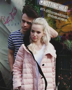 "189 To se mi líbí, 2 komentářů – Thomas Doherty - Harry Hook (@harryhook_descendants2) na Instagramu: ""True Love The Beauty and the Beast Tommy and Chloë @thomasadoherty @dovecameron…"""