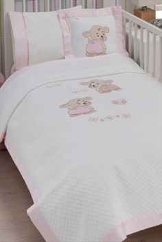 Evlen Home & Alanur Home Collection - Bebek Pike Takımı Pembe GLNBBKPEP %37 indirimle 119,99TL ile Trendyol da