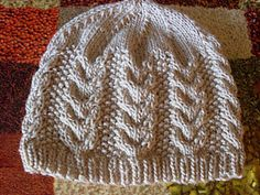 Cables. Via Ravelry - free pattern