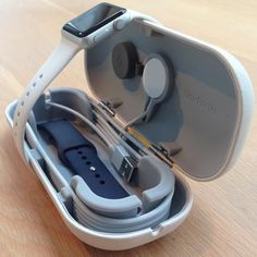 apple technology Design iPhone Watch is part of Watch Apple - TimePorter appleonly design Repost @ iphone 7 Check out this great Apple Watch travel case by It's perfect for on the go or just as a stand at night! Tag an Apple Lover! Apple Watch Accessories, Iphone Accessories, Watch Travel Case, Watch Case, Apple Watch Iphone, Apple Watch Wallpaper, Apple Watch Faces, Ipad, Alexa Device