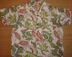メンズヴィンテージ50年代CAMPUS花レイハワイアンアロハシャツ -  M  - ハナシャツ共同