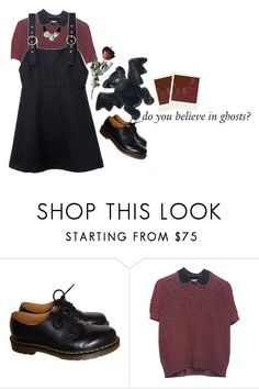 """""""i'm straight"""" by amerisal ❤ liked on Polyvore featuring Dr. Martens, Miu Miu and Dolce&Gabbana"""