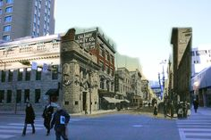 Stephen Avenue Then and Now