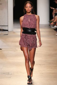 Isabel Marant Spring 2015 Ready-to-Wear Fashion Show - Malaika Firth (OUI)