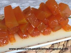 You can't get enough to eat crunchy before the season . Snack Recipes, Dessert Recipes, Cooking Recipes, Snacks, Delicious Desserts, Yummy Food, Tasty, Pumpkin Jam, Turkish Recipes