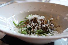 #chefsfriends Snijbooncarbonara met truffel, restaurant Niven in Rijswijk.