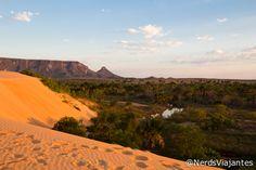Serra do Espírito Santo vista das dunas - Jalapão