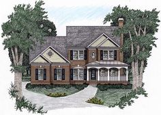 Traditional House Plans Traditional House And Square Feet On