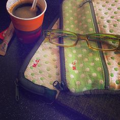 MarinaC - for your I-pad only...I-pad cover with embroidered monogram - shop.marinac.it #marinacmilano