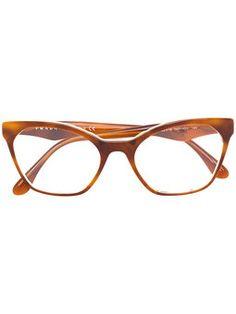 cat-eye acetate glasses