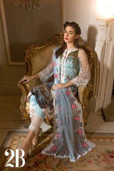 586f1fe87a Design 2B Spring/Summer Lawn 2017 Pakistani Dresses, Pakistani Suits,  Pakistani Couture,