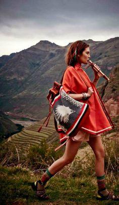 drawstring Pendleton bag #ravenectar #outfit #festival #style #fashion #clothes #clothing