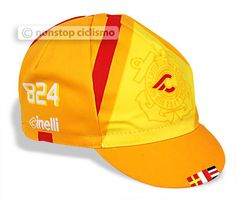 CINELLI RED HOOK CRIT CYCLING CAP : BARCELONA ORANGE