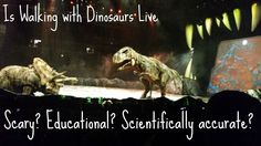 We went to Walking with Dinosaurs, and answered your questions!