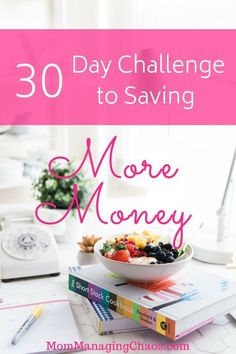 Looking for more easy ways to save money? Check out this 30 day challenge to find simple, easy to implement ways to turbo charge your savings in just one month! #savemoney #budget ##easywaystosavemoney