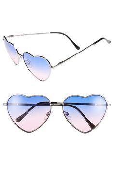 3acd7cbf6e Ombre heart shaped sunglasses Heart Shaped Glasses