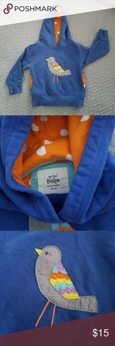 MINI BODEN Hoodie Used but very clean, no stains inside and out. Quality material. Mini Boden Other