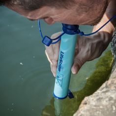 LifeStraw (enjoy clean safe drinking water on the go; turns mucky water into pure water; lightweight)