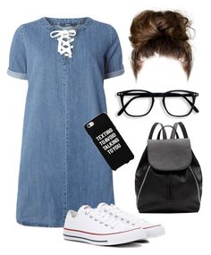 """""""About Me in Description!"""" by kaitydidwhat ❤ liked on Polyvore featuring Marc Jacobs, Dorothy Perkins, Ed Hardy, Converse, Witchery and Samsung"""