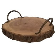 Thanksgiving Decor Target Free Shipping Raw Edge Wood Tray - Threshold™ Harvest Collection