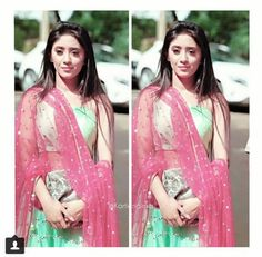 Shivangi Joshi Instagram, Kartik And Naira, Mohsin Khan, Stylish Girl Pic, Romantic Couples, Beauty Queens, Noodles, Sari, Celebs