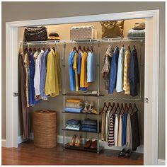 """You'll love the 53""""W Closet System at Wayfair - Great Deals on all Storage & Housekeeping products with Free Shipping on most stuff, even the big stuff."""