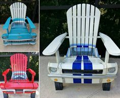 Adirondack Car Chairs