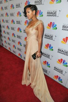 Meagon good  Red Carpet | image awards red carpet in this photo meagan good actress meagan good ...