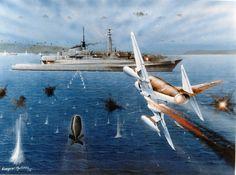 Pinturas de la Guerra de Malvinas