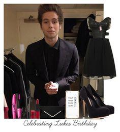 """Celebrating Luke's Birthday"" by youngstylist2202 ❤ liked on Polyvore featuring Glamorous, Carvela Kurt Geiger, River Island, Rimmel and Napoleon Perdis"