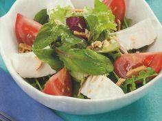 Salada de Queijo Fresco com Amêndoa