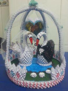cisnes de boda