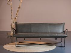 3 seater leather sofa EARL | 3 seater sofa by Jess Design
