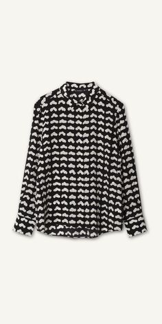 Vevet silk shirt by Marimekko.