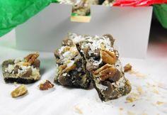 The Kitchen is My Playground: German Chocolate Cracker Candy {2 ways}