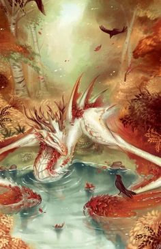 Mythical Creatures Art, Mythological Creatures, Magical Creatures, Dragon Artwork, Creature Drawings, Dragon Pictures, Creature Concept Art, Fantasy Artwork, Fantasy Drawings