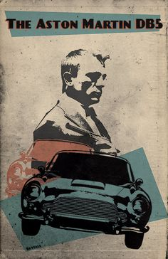 James Bond alternative Skyfall poster Aston by TheCelluloidAndroid