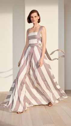 Best Spring Outfits Casual Part 2 Stripes Fashion, Pink Fashion, Love Fashion, Fashion News, Fashion Outfits, Fashion Design, Fashion 2018, Fashion Boots, Womens Fashion