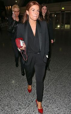 38d8aa086ef3 Coleen Rooney (abby) switched up her look from a dress to a jumpsuit on a  night out with the girls!