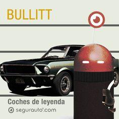 #Coches de Leyenda: Bullitt #SeguroDeCoche #Seguros #SeguroDeAutomovil #Segurauto #Segurnautas #Automovil #Cochesdeleyenda