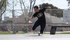 Skateboarding com Wee-Man