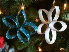 Estrela de Natal de Rolo de papel Higienico